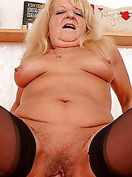 Hairy granny, Mature stocking