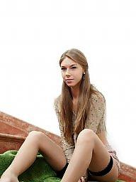 Stockings, Lingerie, Teen stockings, Amateur lingerie