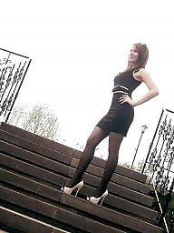 Legs, Leggings, Upskirt stockings, Legs stockings