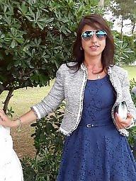 Italian, Brunette mature, Italian amateur