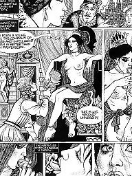 Comic, Comics, Vintage, Art, Bdsm art, Bdsm cartoon