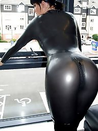 Leather, Latex, Milf upskirt, Sexy milf, Milf upskirts