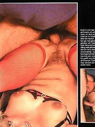 Retro, Magazine, Hairy pussy, Vintage magazine, Vintage hairy, Vintage sex