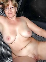 Saggy, Saggy boobs, Big boobs, Chubby mature, Sexy mature, Mature boobs