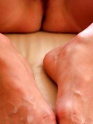 Feet, Feet cum, Amateur feet