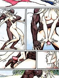 Cuckold, Interracial cartoon, Interracial cartoons, Funny, Cuckold cartoon, Interracial cuckold