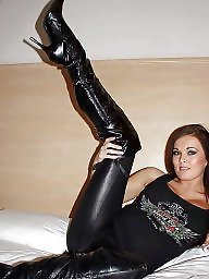 Latex, Leather, Boots, Boot