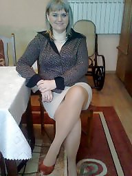 Mature stockings, Amateur stockings