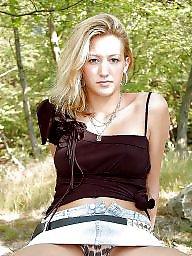 Outdoor, German, Outdoors, German blonde, German amateurs