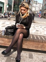 British, Upskirt stockings, Tights, Tight