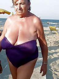 Granny, Beach, Grannies, Mature beach, Beach mature, Granny amateur