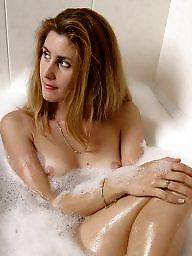 Bathroom, Blonde milf