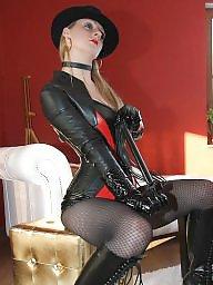 Leather, Nylon, Nylons, Nylon stockings