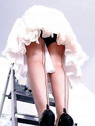 Vintage, Upskirt stockings, Rock