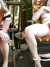 Hairy, Dressed undressed, Dress, Undressed, Dress undress, Outdoors