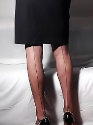 Mature stocking, Secretary, Mature stockings, Sofa, Stockings mature, Mature sofa