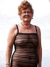 Voyeur mature, Amateur granny
