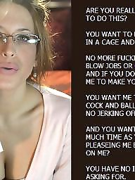 Chastity, Captions