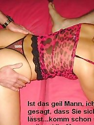 Caption, Captions, German captions, Milf captions, German, German caption