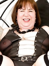 Latex, Leather, Mom, Pvc, Mature leather, Amateur mom