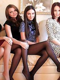 Russian, Nylon, Stocking, Nylon stockings