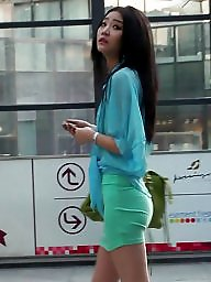 Chinese, Chinese girl, Pretty, Asians, Public voyeur
