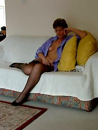 Uk mature, Stocking amateur, Mature uk