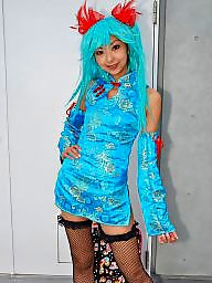 China, Cosplay, Asian teen, Dressing