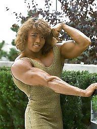 Retro, Muscle, Female