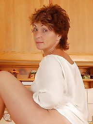 Hairy mature, Kitchen, Mature posing, Mature hairy, Posing, Hairy milf