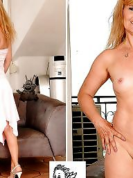 Mature, Dressed undressed, Mature dress, Undressing, Milf mature, Undressed