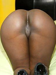 Ebony, Ebony pussy, Black pussy, Black ass, Nice ass