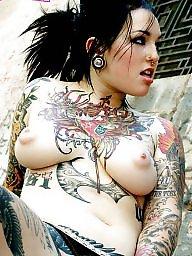 Emo, Tattoo, Babe, Teen girls, Gothic, Punk