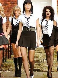 Nylon, High heels, Legs, Dress, Legs stockings, Leg