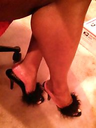 Bbw, Bbw stockings, Heels, Bbw feet, Bbw stocking, Bbw pantyhose
