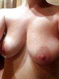 Wife, Big nipples, Wifes tits, My wife, Big nipple