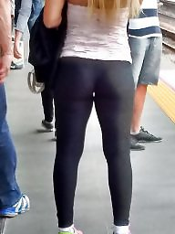 Spandex, Mature blonde
