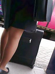 Pantyhose, Stockings voyeur