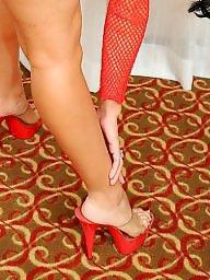 Nylon feet, Nylon, Mature feet, Nylons, Mature nylon, Nylon mature