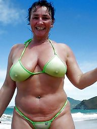 Mature bikini, Nipples, Mature nipple, Mature nipples, Bikini mature