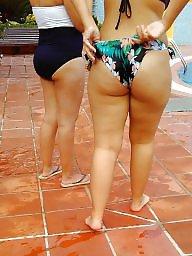Beach, Big butt, Butt, Teen bikini, Porn, Butts