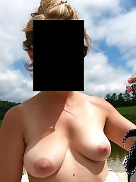Tease, Wife flashes, Lake