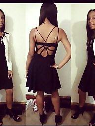 Skirt, Shorts, Teen dress, Ebony teen, Short, Dressed