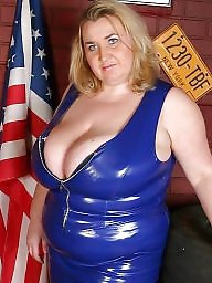 Latex, Bbw, Leather, Bbw latex, Bbw boobs, Latex bbw