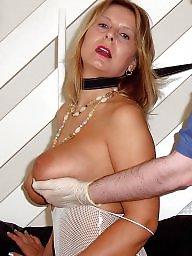 Blonde, Fingering, Big, Milf boobs, Fingered