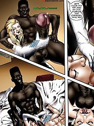 Bride, Interracial, Interracial cartoon, Interracial cartoons, Brides, Interracial creampie