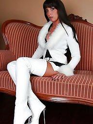 Boots, Upskirt, Stockings, Stocking, Upskirts, Lady
