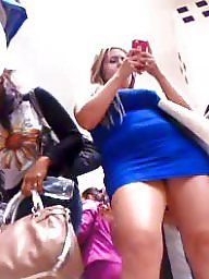 Upskirt, Dress, Upskirt teen