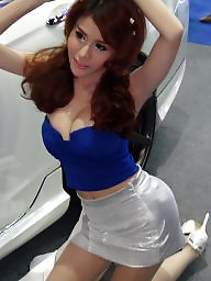 Pantyhose, Heels, High heels, Asian pantyhose, Thailand, Motor