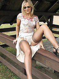 Upskirt, Open, Lady